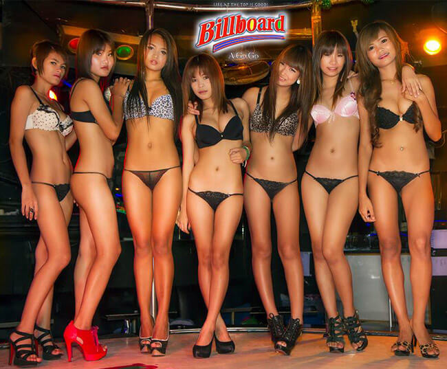 Billboard go go bar bangkok